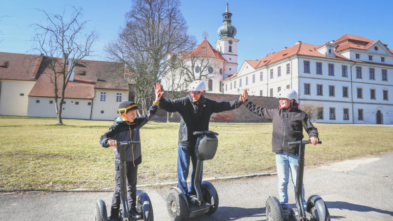 Segway Monasteries Tour | Prague Segway Legal Tours | Segwayfun.eu
