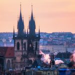 View of Prague from Letna